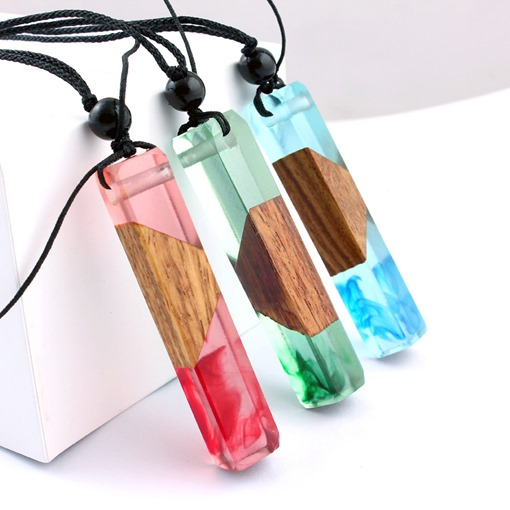 Ericdress Wooden Pendant Necklace