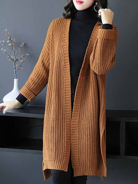 Ericdress Long Sleeve V-Neck Sweater