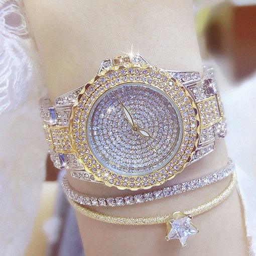 Ericdress Rhinestone Hardlex Watch