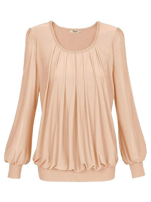 Ericdress Long Sleeve Round Neck Standard Casual Spring T-Shirt