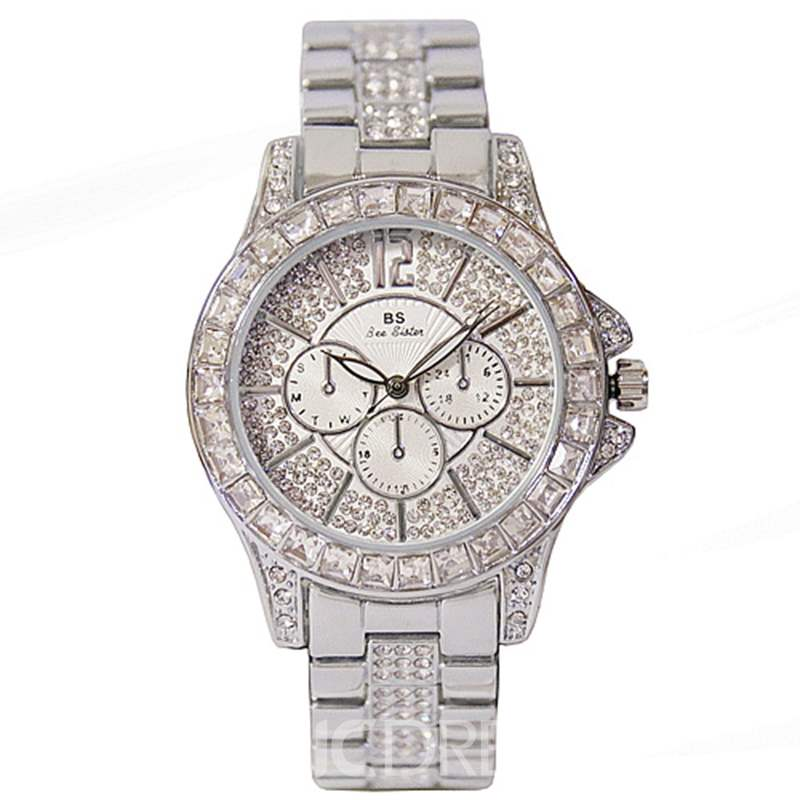 Ericdress Round Quartz Women Watch