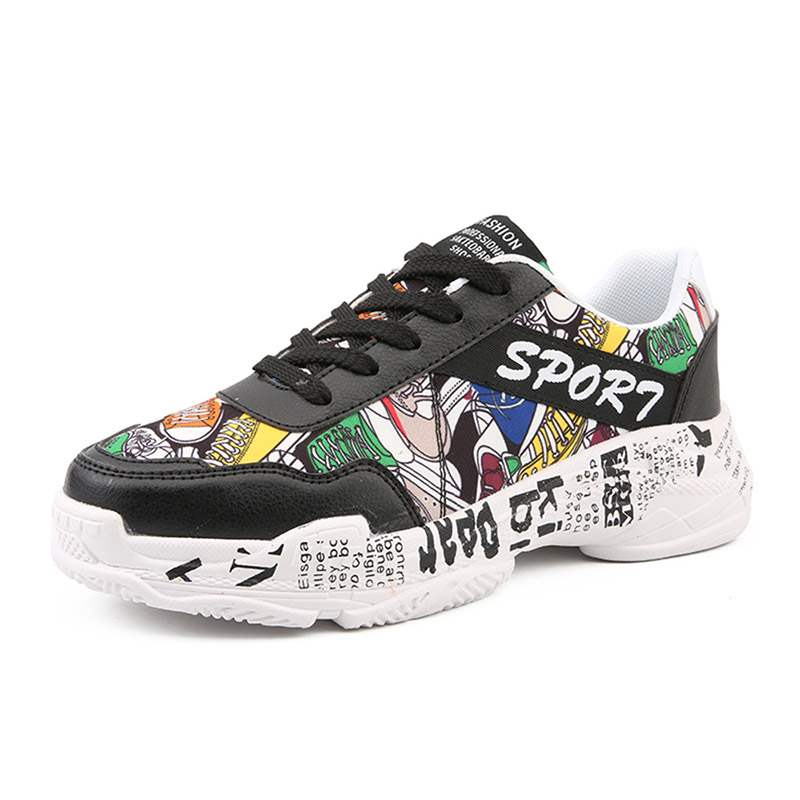 Ericdress Color Block Lace-Up Round Toe Men's Chic Sneakers