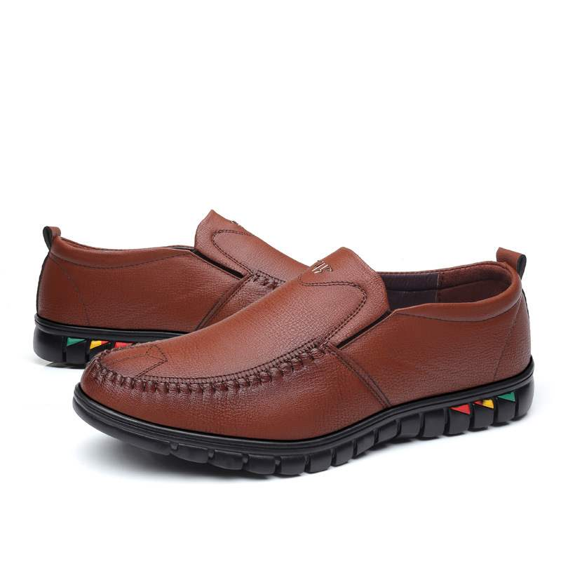 Ericdress PU Slip-On Round Toe Men's Comfortable Shoes