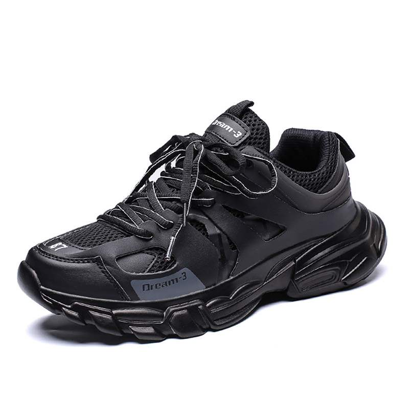Ericdress Lace-Up Round Toe Men's Chic Sneakers