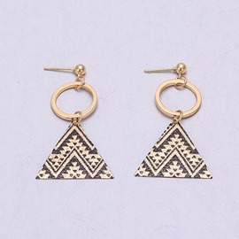 ericdress boucles d'oreille triangle alliage