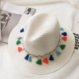 Ericdress Straw Plaited Summer Plain Hat