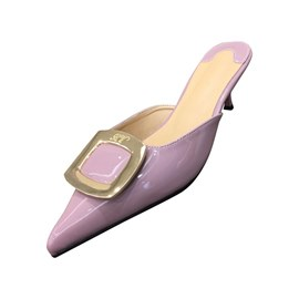Ericdress PU Pointed Toe Slip-On Stiletto Heel Women's Flats
