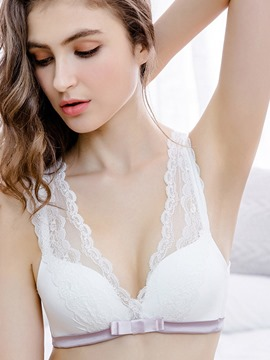 Ericdress Lace Plain Sexy Three Quarters Bra