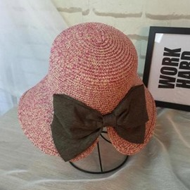 Ericdress Lady Bowknot Straw Hat