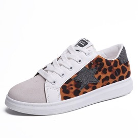 Ericdress Leopard Print Lace-Up Women's Sneakers