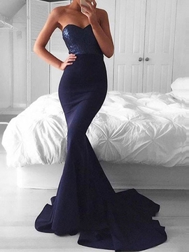 Ericdress Sweetheart Court Mermaid Evening Dress