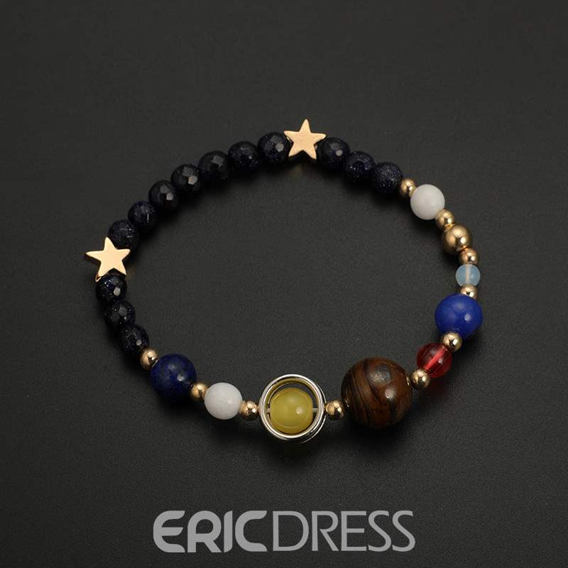 Ericdress Colorful Beads Bracelet