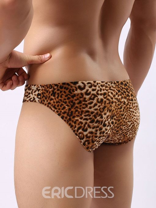 Ericdress Print Leopard Low-Waist Briefs Underwear