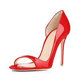 Ericdress Heel Covering STiletto Heel Women's Red Sandals