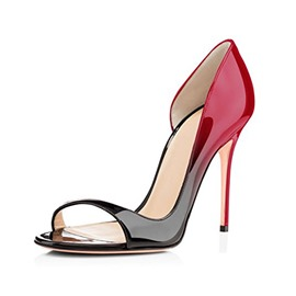 Ericdress Peep Toe Stiletto Heel Heel Covering Women's Sandals
