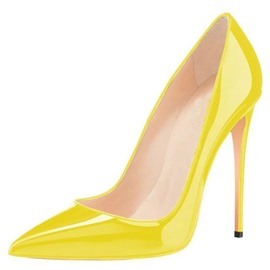 Ericdress PU Stiletto Heel Pointed Toe Women's Pumps