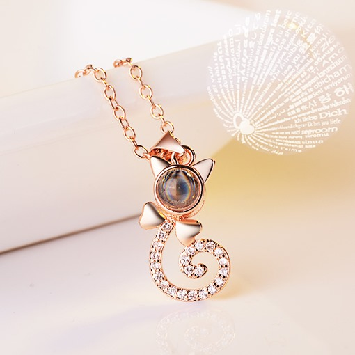 Ericdress Cat Romantic Women Necklace
