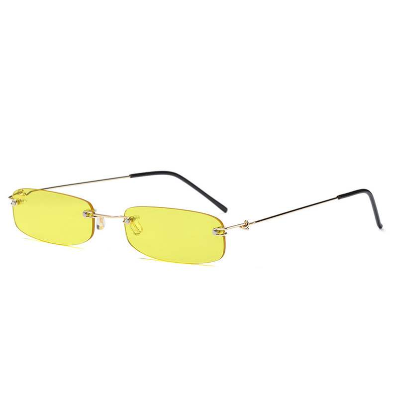 Ericdress Rimless Anti UV Sunglasses