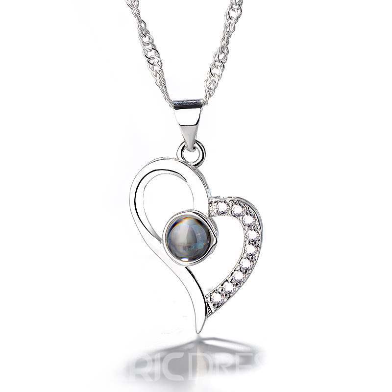 Ericdress Heart-Shaped Romantic Necklace For Women