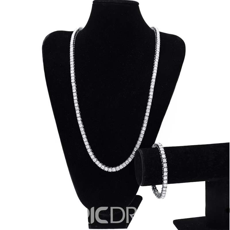 Ericdress Alloy Diamante Hippop Necklace