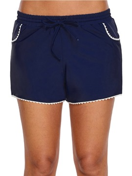 Ericdress Plain Patchwork Simple Pocket Board Shorts