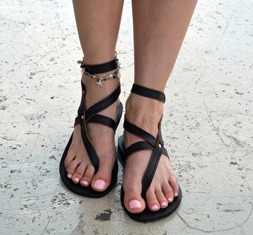Ericdress Buckle Thong Women's Flat Sandals