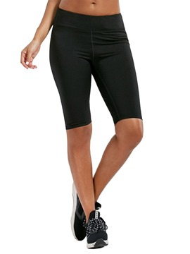 ericdress gym sport leggings respirants sans couture longueur genou