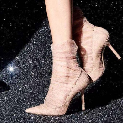 Ericdress Pointed Toe Stiletto Heel Prom Shoes