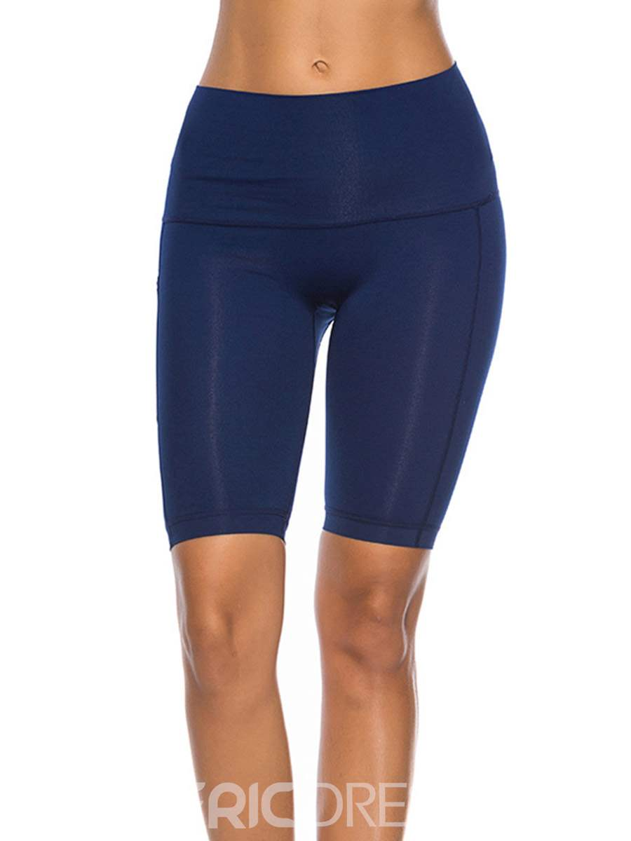 Ericdress Anti-Sweat Seamless Knee Length Gym Sport Fitness Leggings