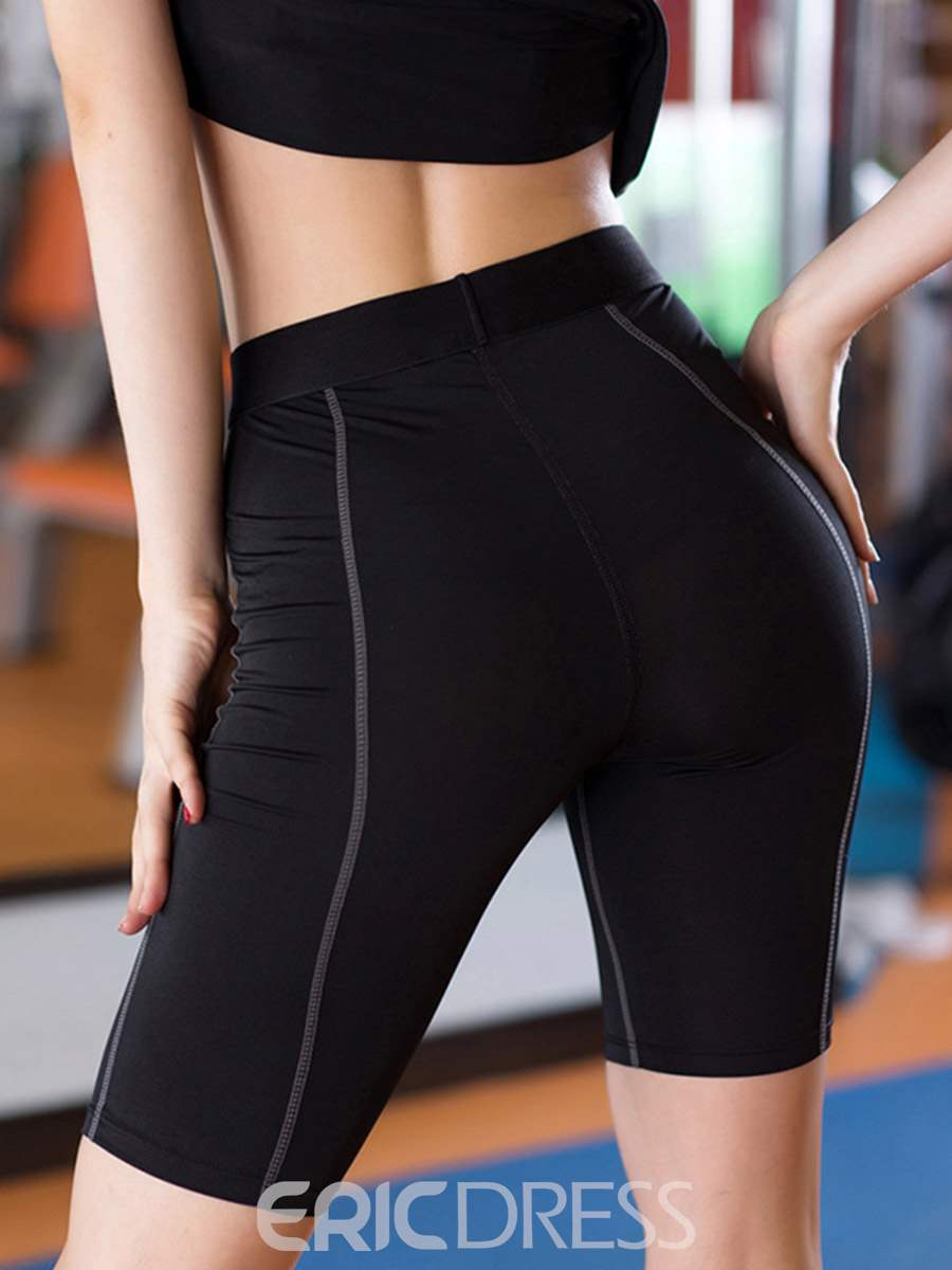 Ericdress Breathable Seamless Gym Sport Joint Pants