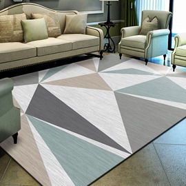 Ericdress Geometric Simple Rectangle Rugs