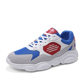 Ericdress Mesh Patchwork Lace-Up Men's Chic Athletic Shoes