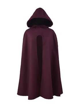 Ericdress Casual Plain Polyester Winter Cape