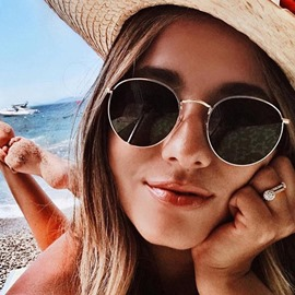 Ericdress Fashion Round 2019 New Style Sunglasses