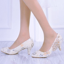 Ericdress Sequin Round Toe Wedding Shoes