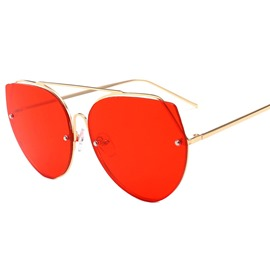 Ericdress Vintage Rimless Sunglasses