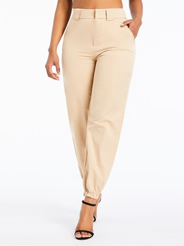 Ericdress Loose Plain Full Length Overall Casual Pants
