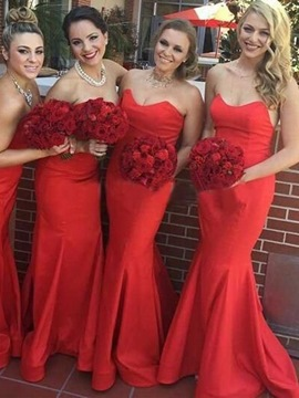 Ericdress Sweetheart Mermaid Bridesmaid Dress