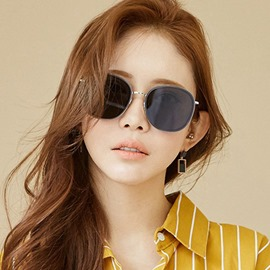 Ericdress Korean Round Sunglasses