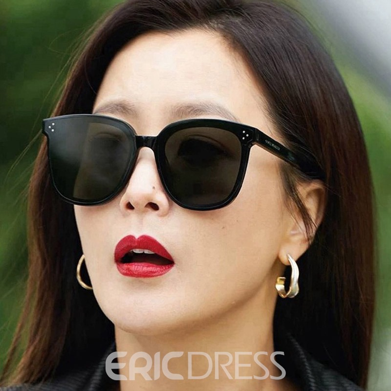 Ericdress Cat Eye Polarized Sunglasses