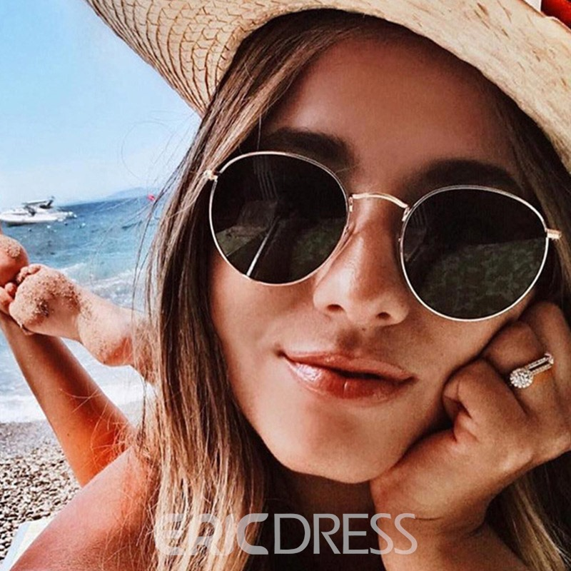Ericdress Fashion Round New Style Sunglasses