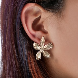 Ericdress Floral Alloy Earrings For Women