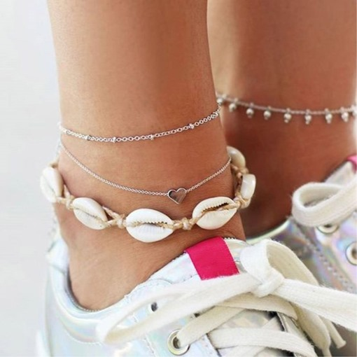 Ericdress Bohemian Conch Anklet