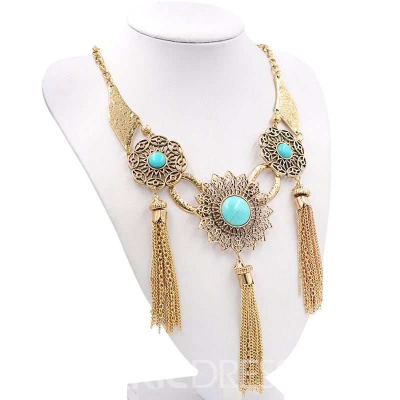 Ericdress Vintage Tassels Necklaces
