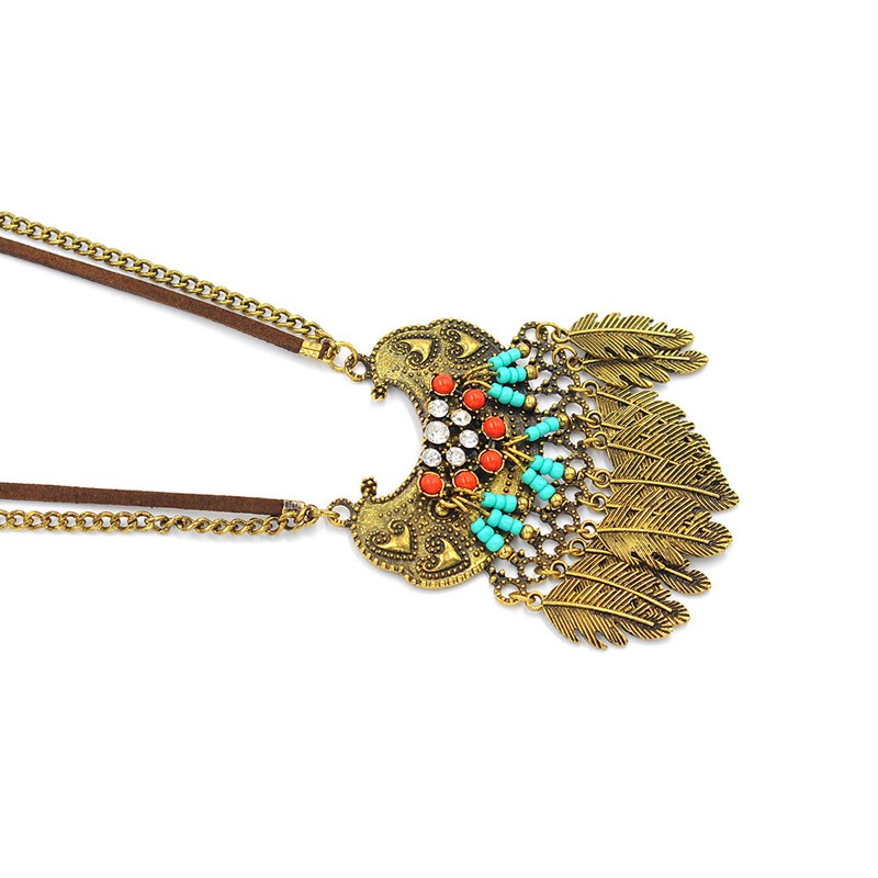 Ericdress Tassels Pendant Necklace