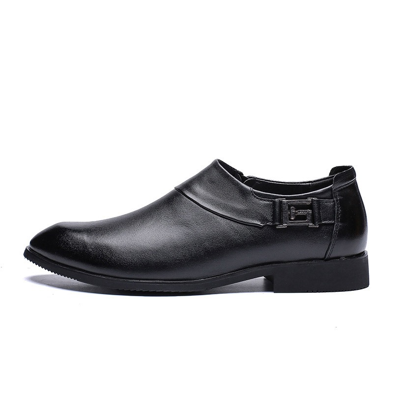 Ericdress Plain Low-Cut Upper Pointed Toe Men's Shoes