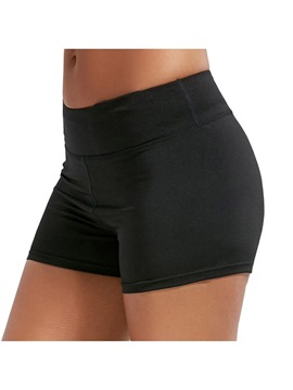ericdress solide push up gym shorts d'été