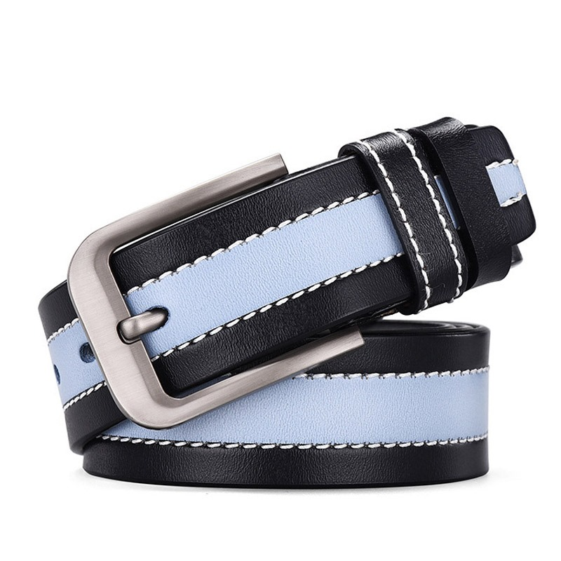 Ericdress Pin Buckle Stripe Fashion Leather Belt