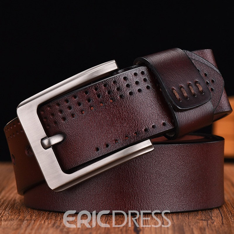 Ericdress Pin Buckle Patent Leather Leather Belt