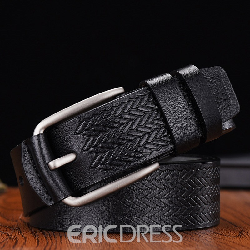 Ericdress Fashion Pin Buckle Leather Belt